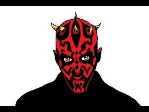 480x360 How To Draw Darth Maul