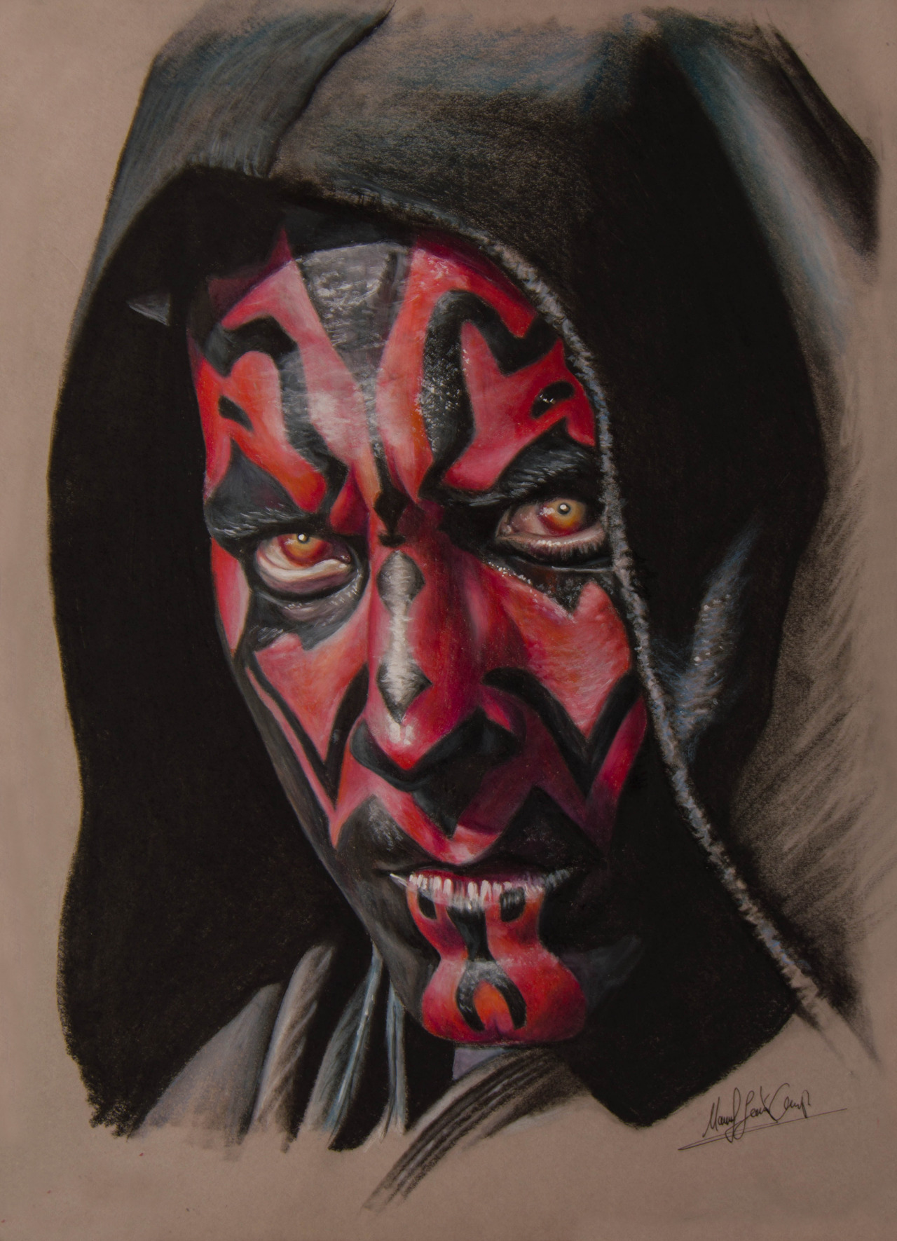 1280x1771 Manuelj Art Darth Maul Drawing By Zaxer Art.