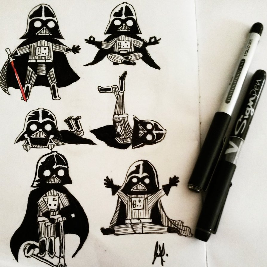 894x894 Cute Darth Vader! By Spn8