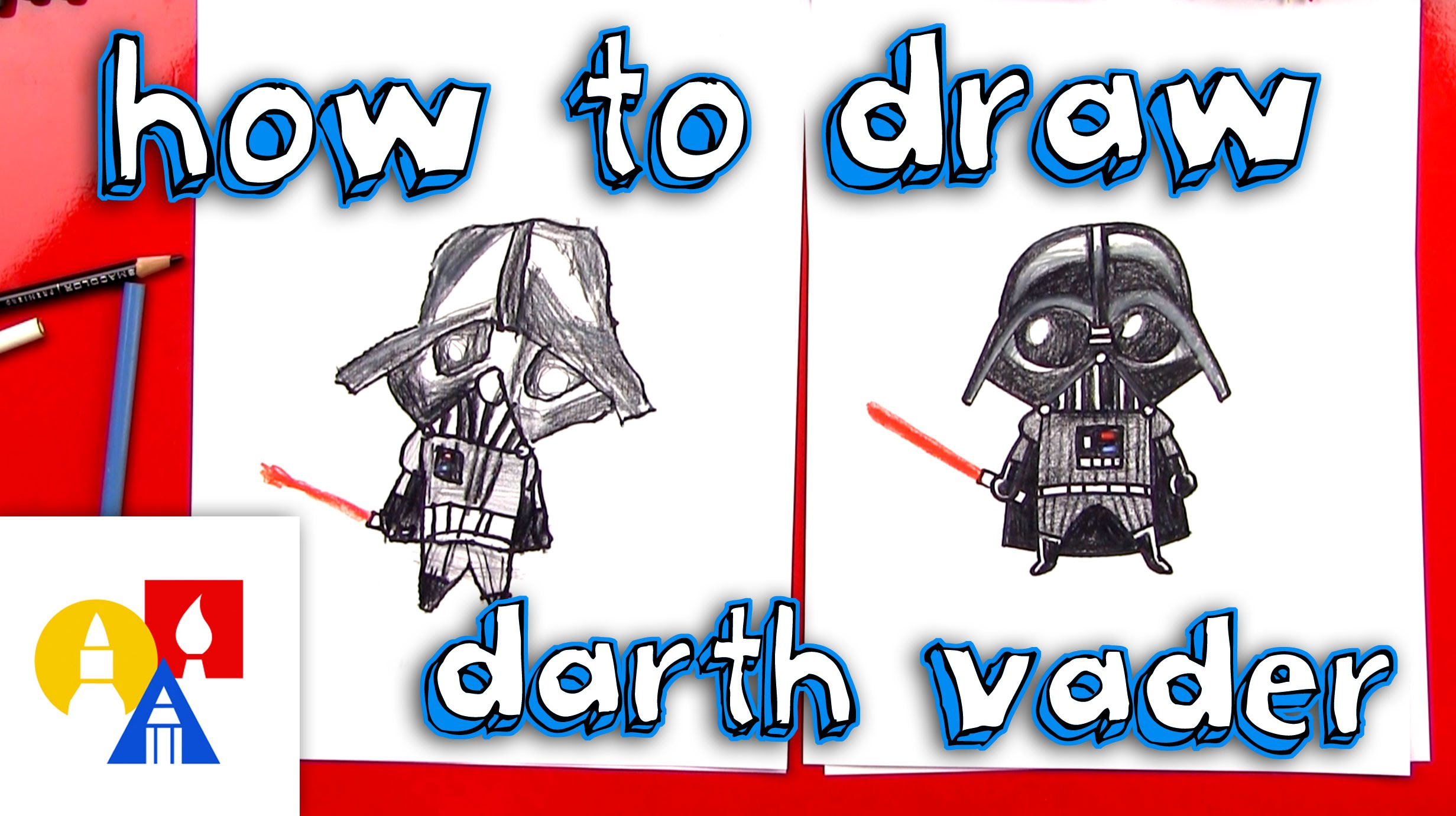2463x1381 How To Draw A Cartoon Darth Vader