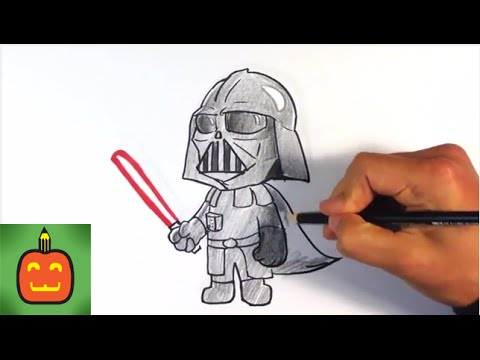 480x360 How To Draw Cute Darth Vader