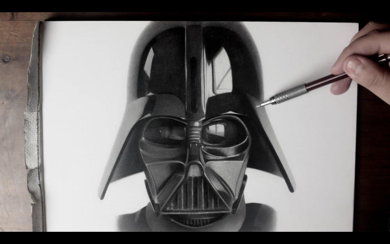Darth Vader Helmet Sketch How To Draw Darth Vader Snapguide Darth