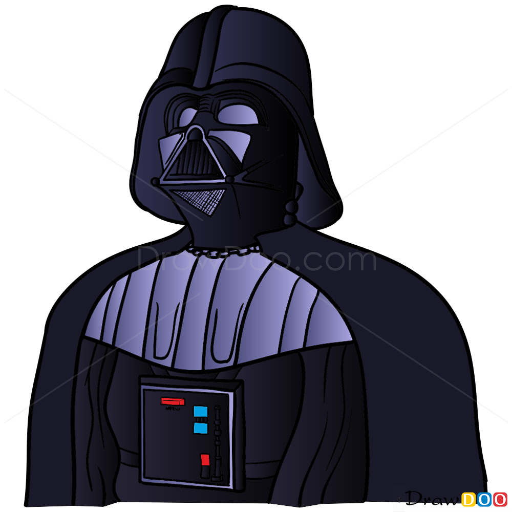1000x1000 How To Draw Darth Vader, Star Wars