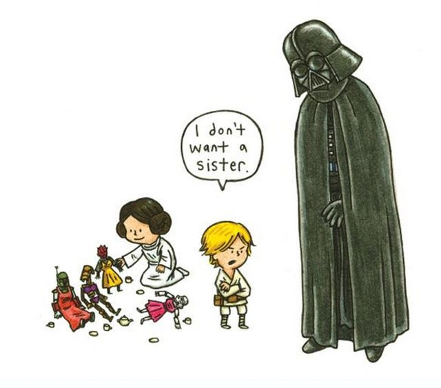640x563 12 Best What If Darth Vader Was A Good Daddy Images