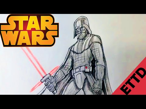 480x360 How To Draw Darth Vader From Star Wars
