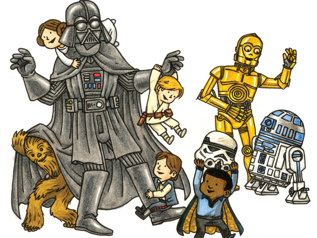 1088x816 Making Darth Vader A Dad Jeffrey Brown On His All Ages Star Wars