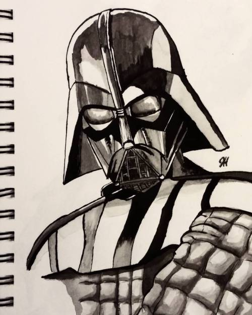 500x625 Slightly Tweaked My Darth Vader Drawing, I