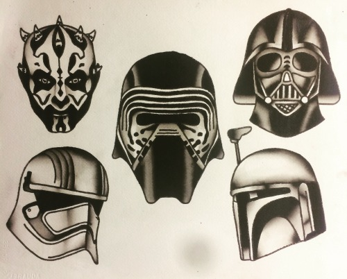 500x402 Traditional Darth Vader Tattoo Tumblr