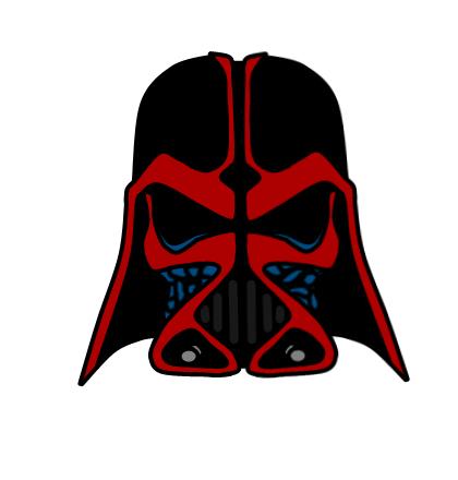 420x440 Best Darth Vader Clipart Darth Vader Head Drawing