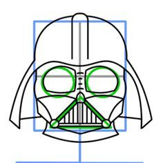 236x236 How To Draw Darth Vader Easy, Step By Step, Star Wars Characters