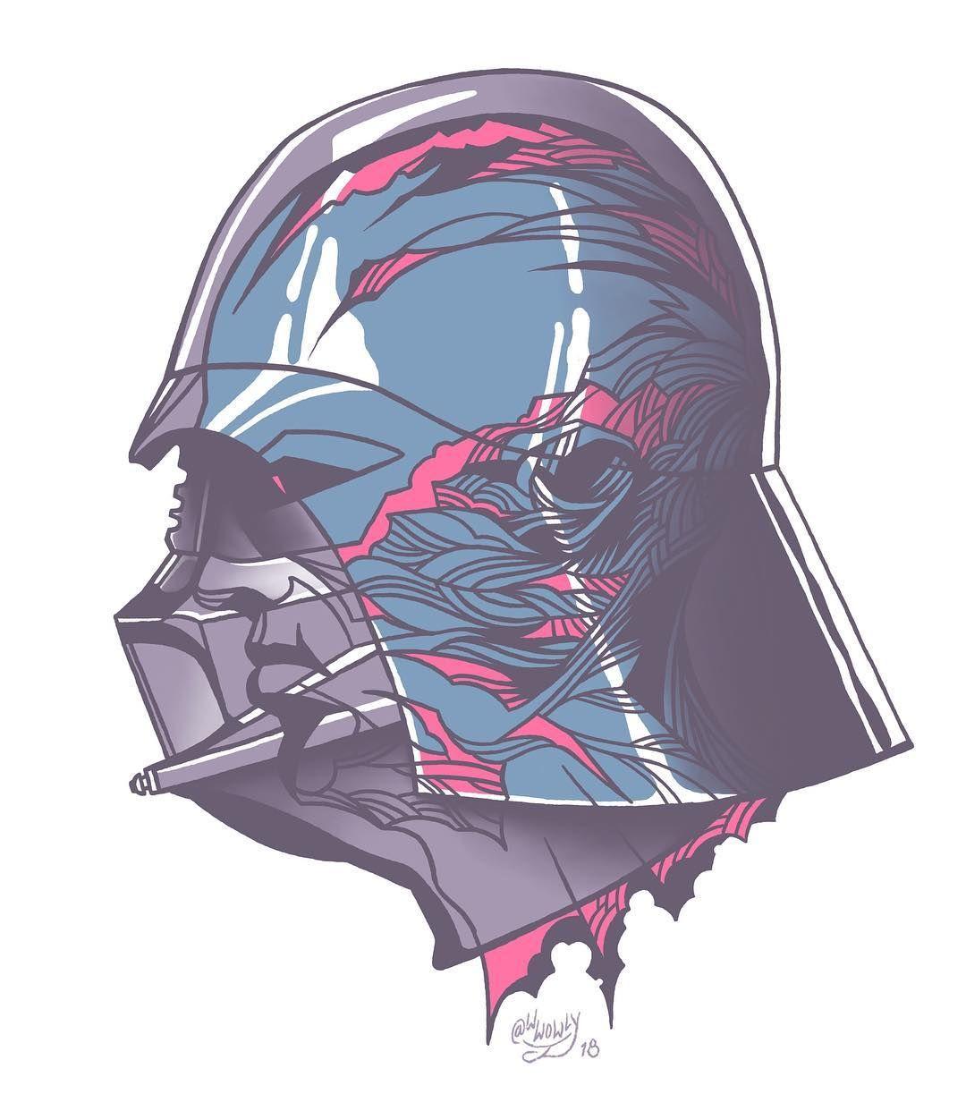 1080x1242 Under The Helmet Darth Vader