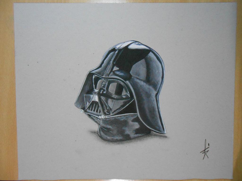 Darth Vader Helmet Drawing At Getdrawings Free For Personal