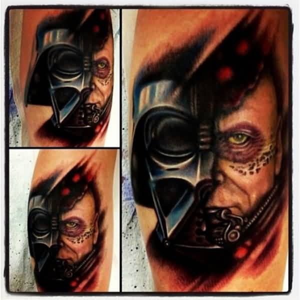 600x600 Darth Vader Helmet Tattoos And Designs