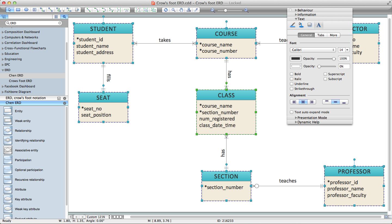 1440x823 Er Diagram Programs For Mac Professional Erd Drawing