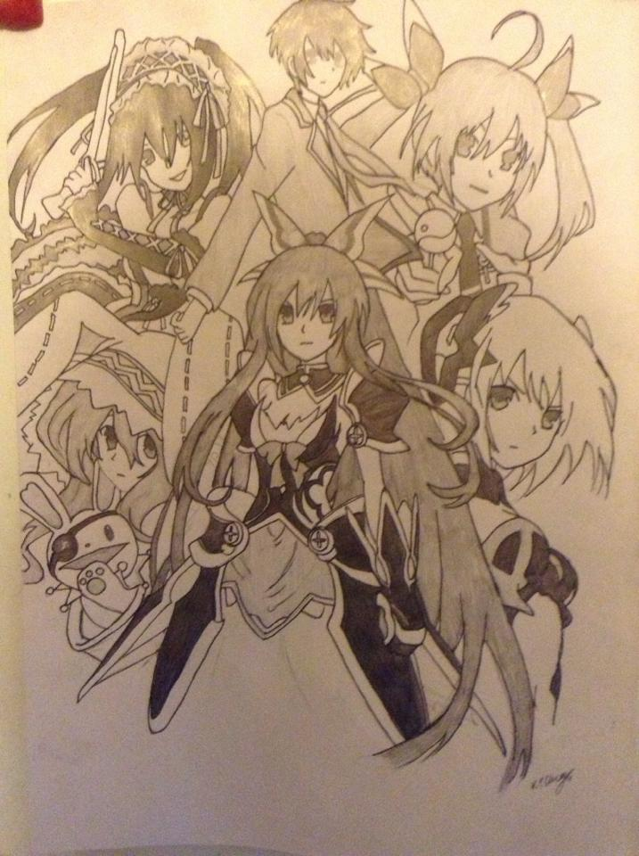 717x960 Date A Live Pencil Drawing By Cherrysky19