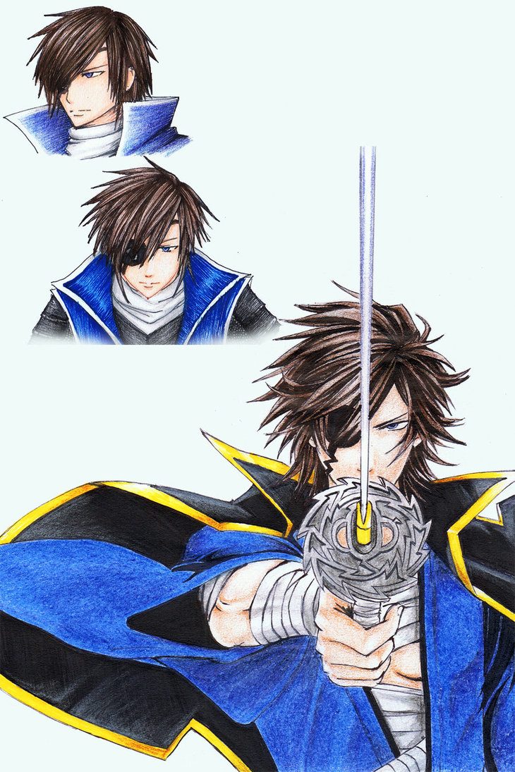 730x1095 Date Masamune Drawing Practice By Phantomallice