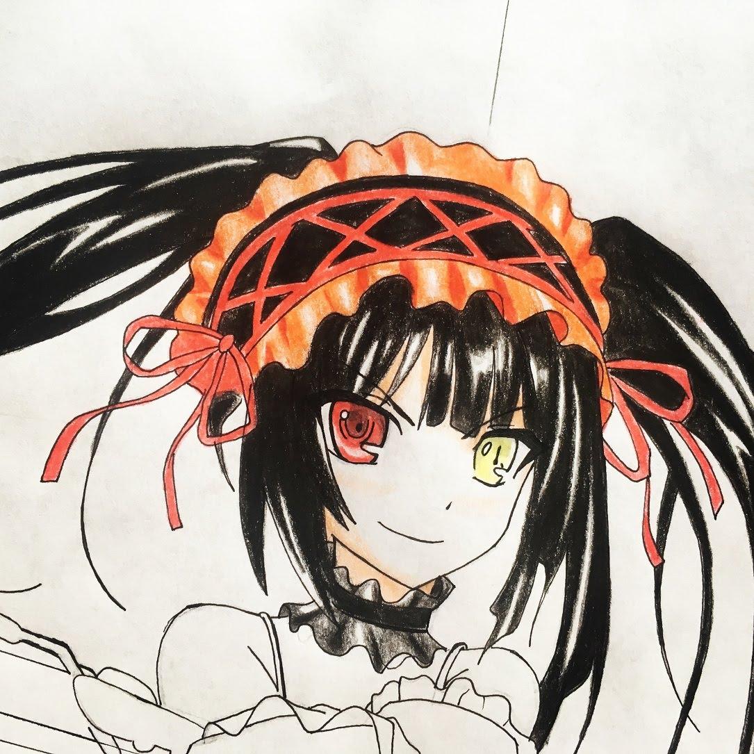 1085x1085 How To Draw Kurumi Tokisaki (Date A Live)