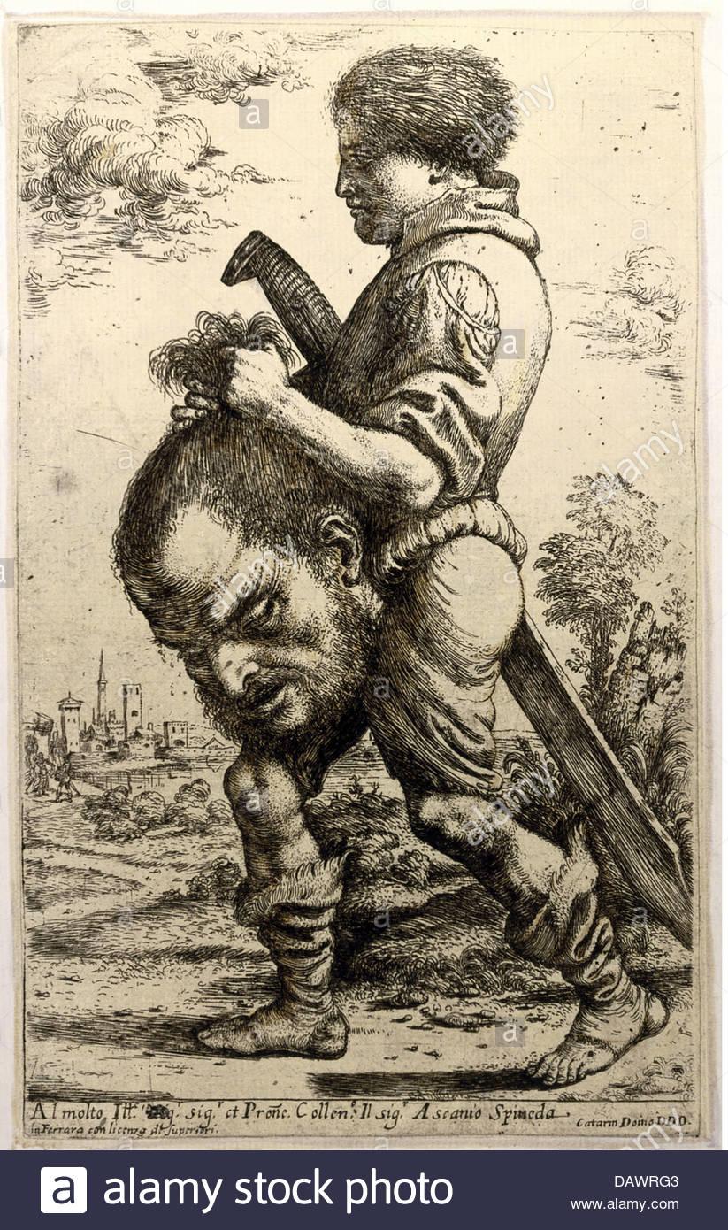 823x1390 Religion, Biblical Scenes, David And Goliath, David With The Head