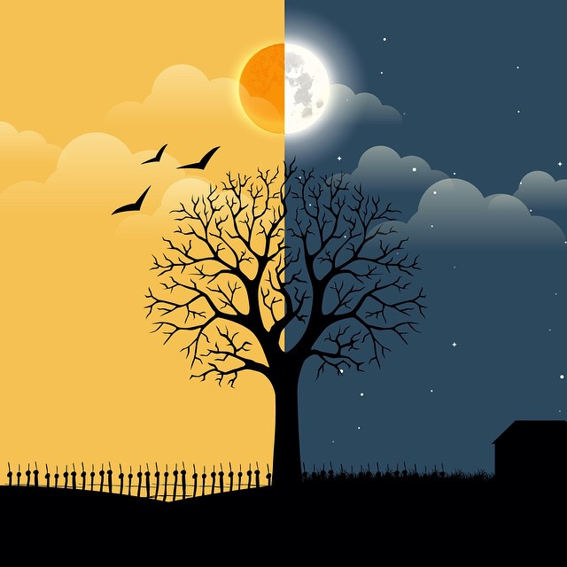 Day And Night Drawing At Getdrawings Com Free For Personal