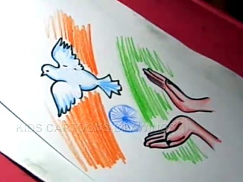 480x360 How To Draw Easy Independence Day Drawing Designs Step By Step