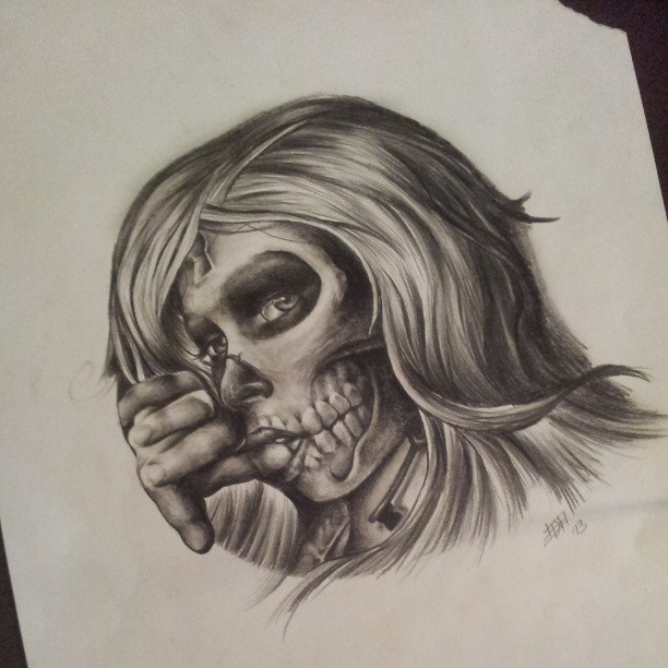 612x612 Pin By Agus Tyas On Sugar Skull Tattoo Flash And Tattoo