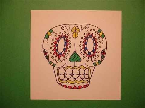 480x360 Let's Draw A Day Of The Dead Skull!