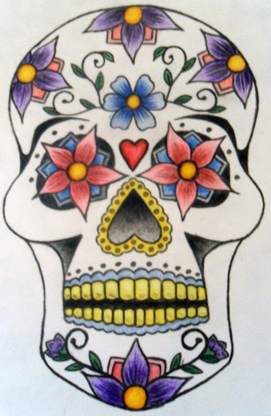 900x1383 Pin By Alex Applebaum On Boo Sugar Skulls
