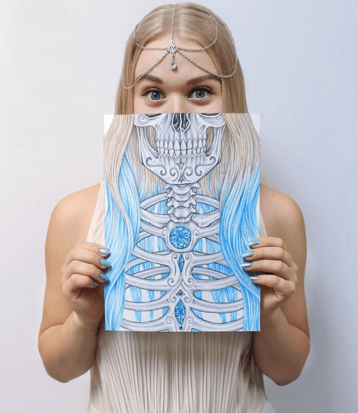 512x590 Tag Archive For Day Of The Dead Skullspiration