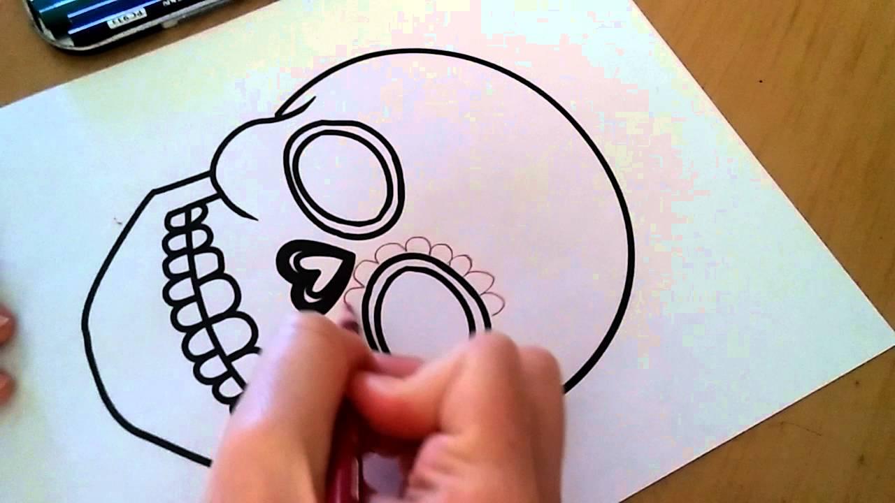 1280x720 Day Of The Dead Sugar Skull Designs