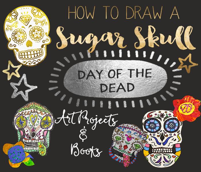 700x600 Sugar Skulls Amp Day Of The Dead Art Ideas Deep Space Sparkle
