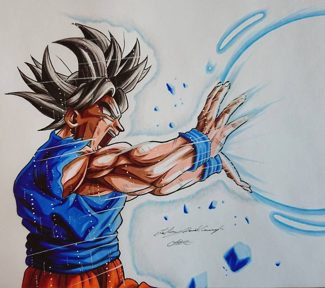 1080x958 Sick Dbz Goku Art By Adcartattack 3,663 Likes, 39 Comments