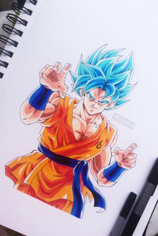 320x476 Goku Drawings On Paigeeworld. Pictures Of Goku