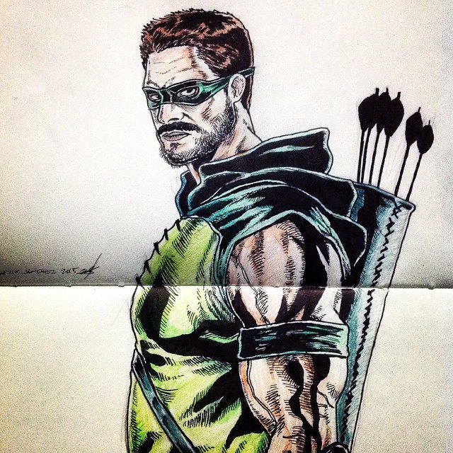 640x640 Dc Icon Art Green Arrow, The Flash, And Superman Frustrashow