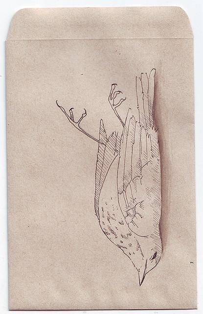 415x640 Dead Bird [2] Bird, Drawings And Illustrations