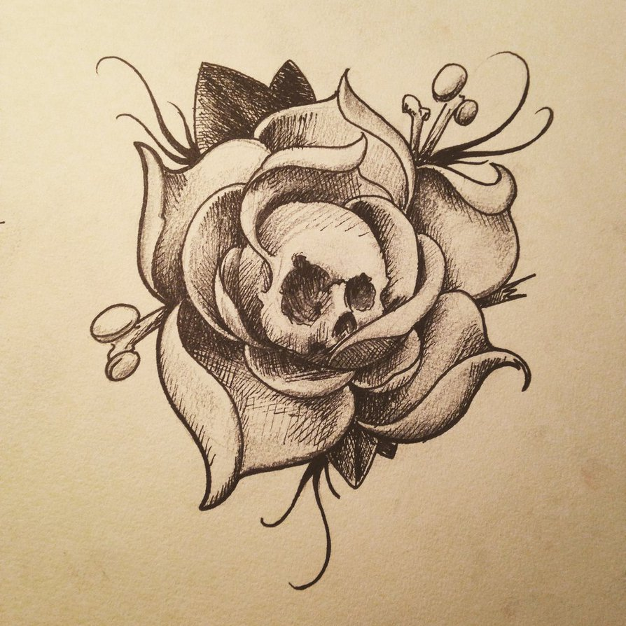 894x894 Dead Rose By Stag21