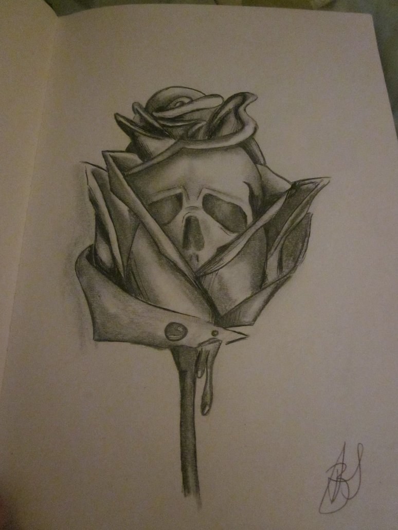 774x1032 Water Death Rose. By Befxox