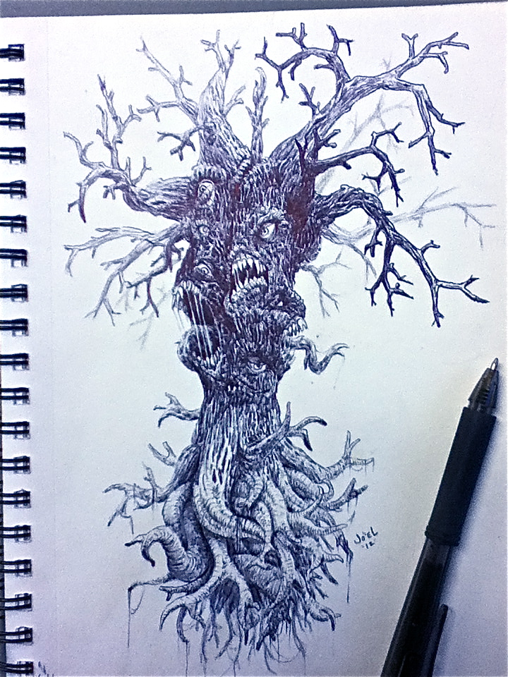 720x960 Dead Tree By Serranoart