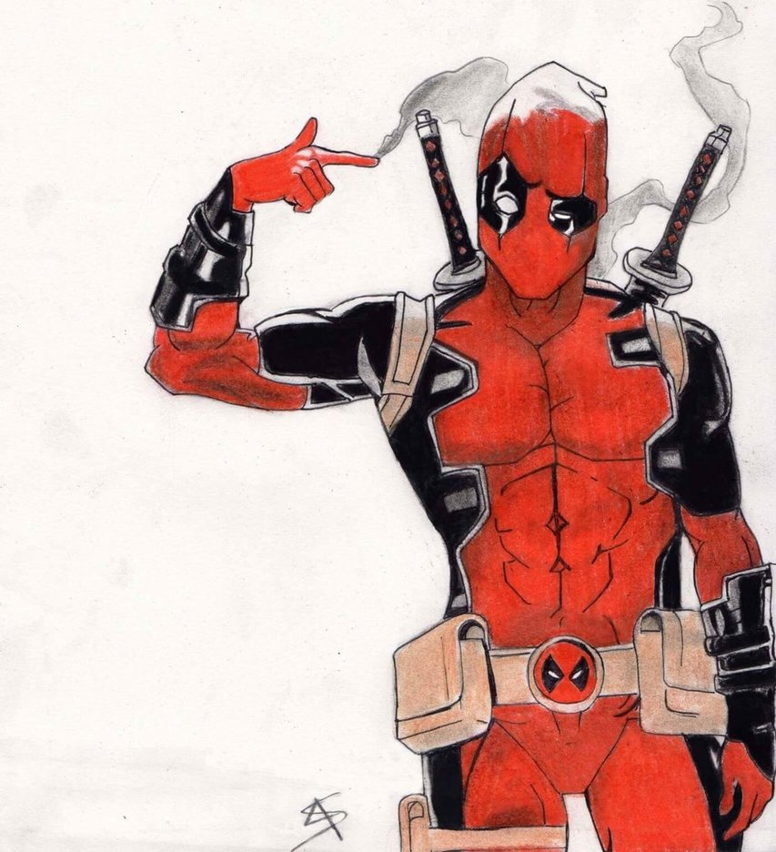 Deadpool Drawing at GetDrawings | Free downloadDeadpool Sketch