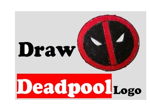 Deadpool Logo Drawing At Getdrawings Com Free For Personal