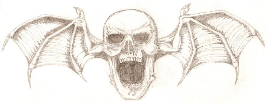 900x350 Death Bat Sketch By Ryuu Mayonaka