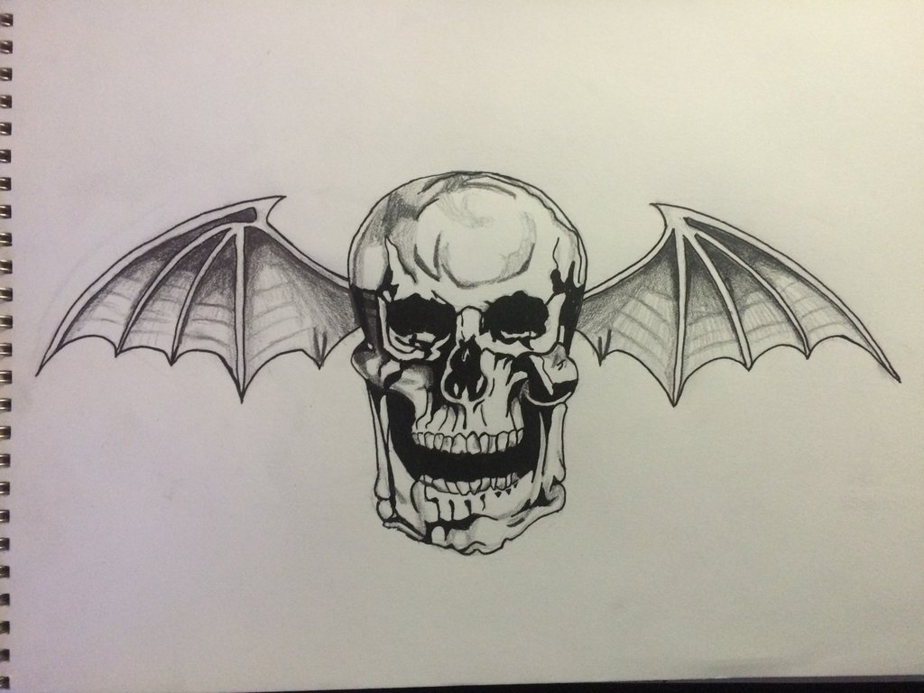 1024x768 Deathbat Drawing By Snyderjared