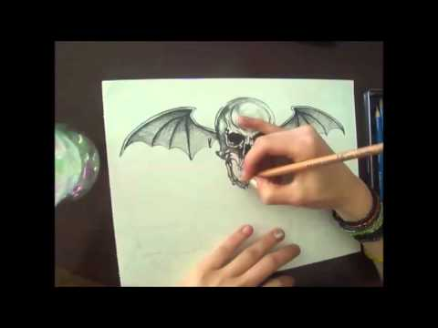 480x360 Deathbat Speed Drawing