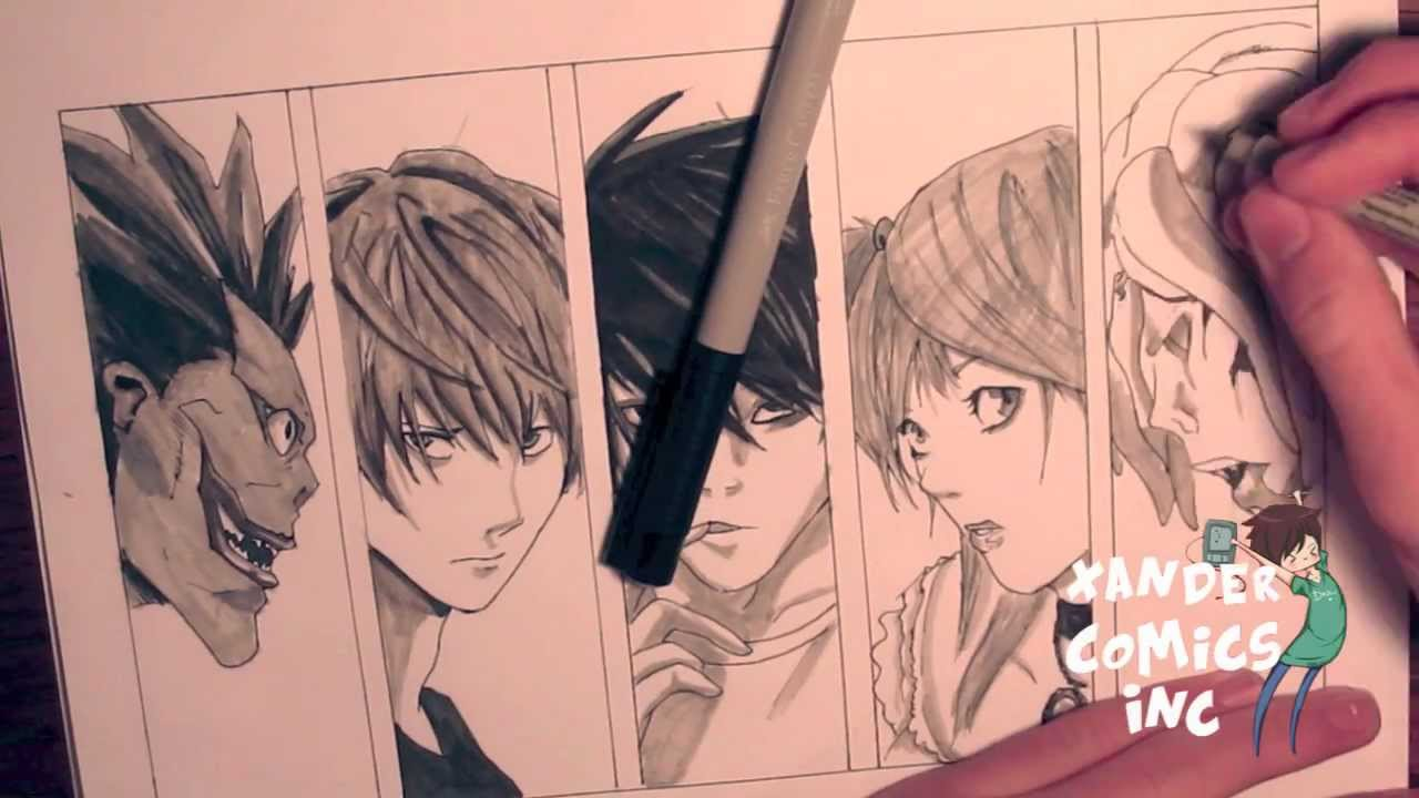 Death Note Drawing At Getdrawings Com Free For Personal Use Death