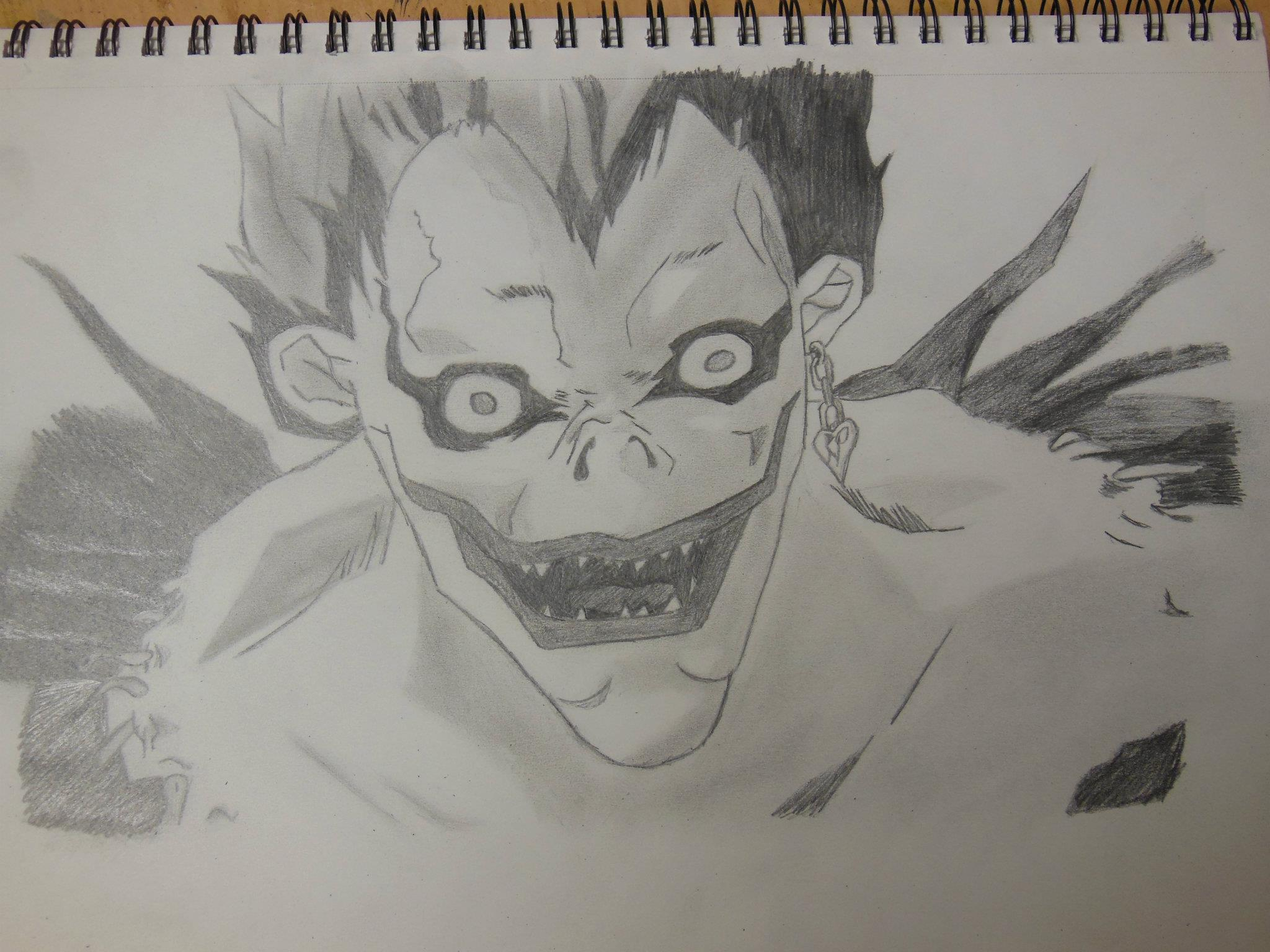 2048x1536 Death Note Drawings How To Draw L Death Note