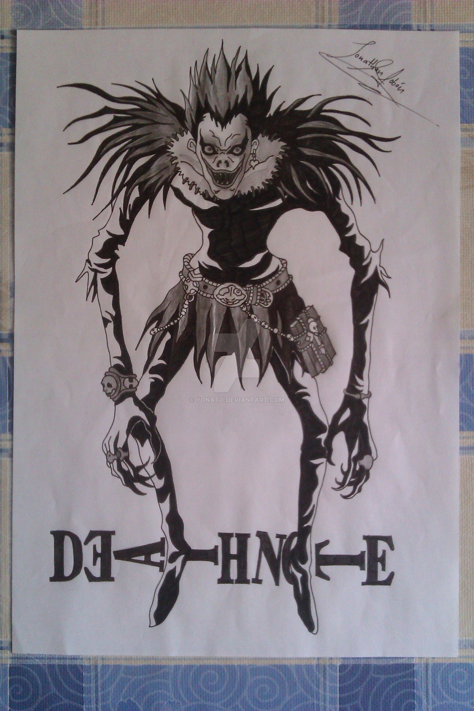 1600x2400 Death Note Drawings My Drawings Death Note, Shinigami Ryukyonato