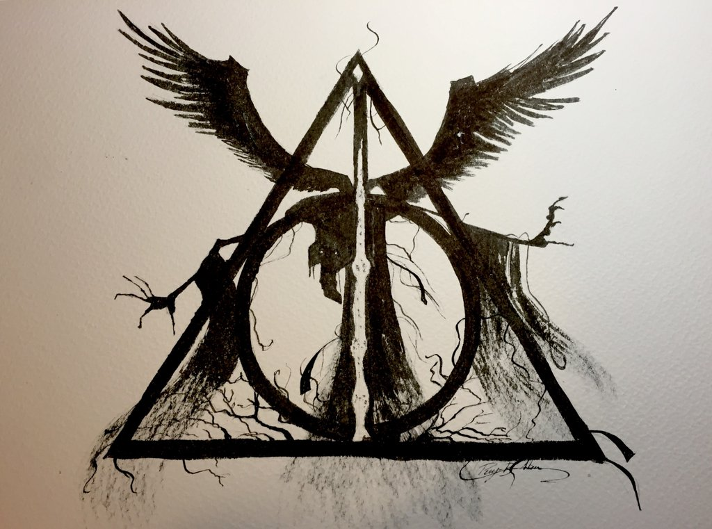 1024x761 Deathly Hallows By Peny B Alien