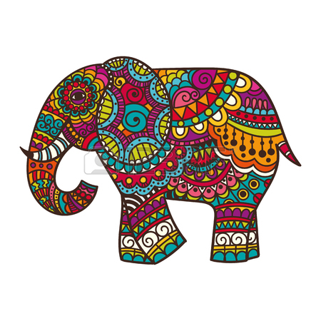 450x450 Elephant Drawing Stock Photos. Royalty Free Elephant Drawing