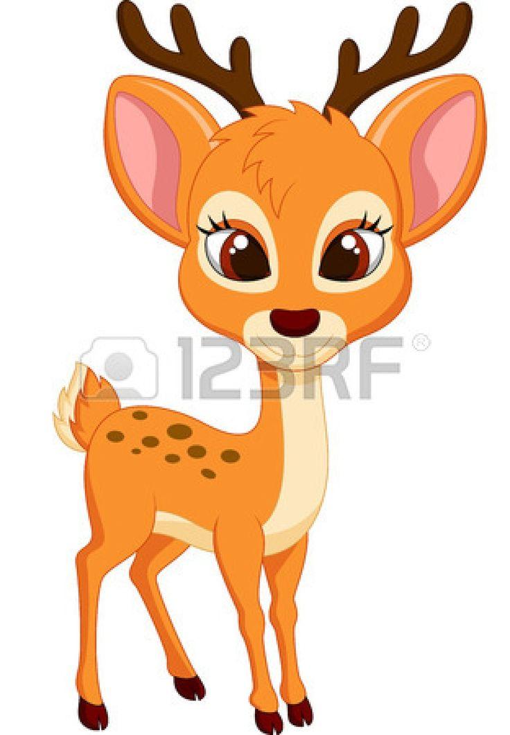 736x1061 Photos Cartoon Deer,