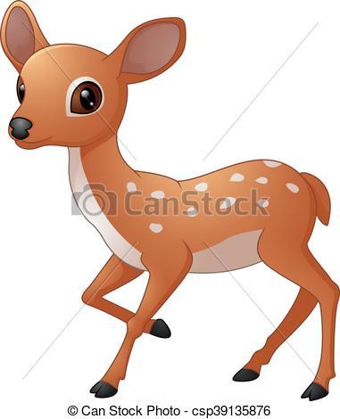 381x470 Vector Of Illustration Mouse Deer Cartoon Illustration Vectors