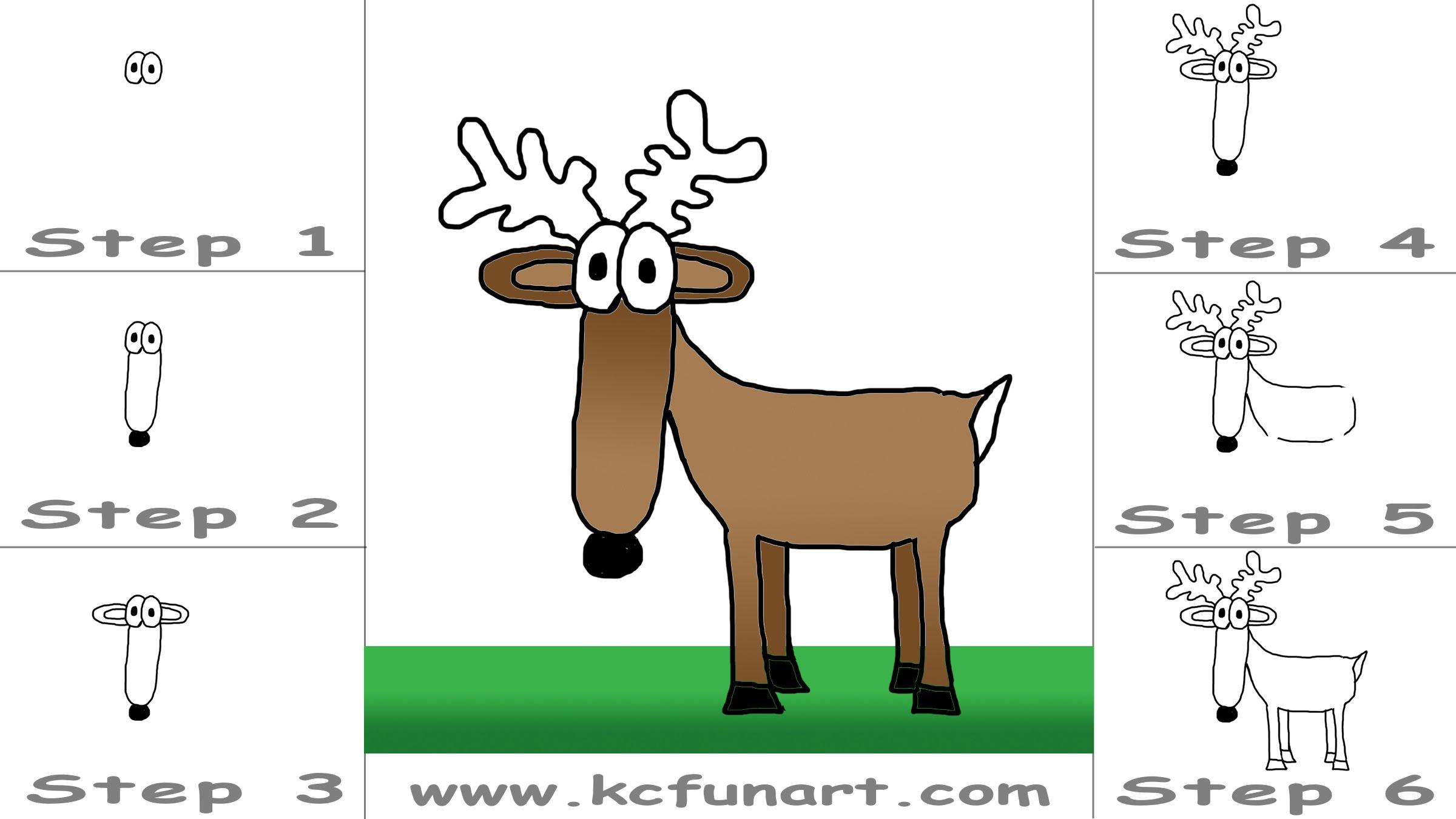 deer drawing cartoon at getdrawings com free for personal use deer rh getdrawings com how to draw a cartoon deer step by step how to draw a cartoon deer face